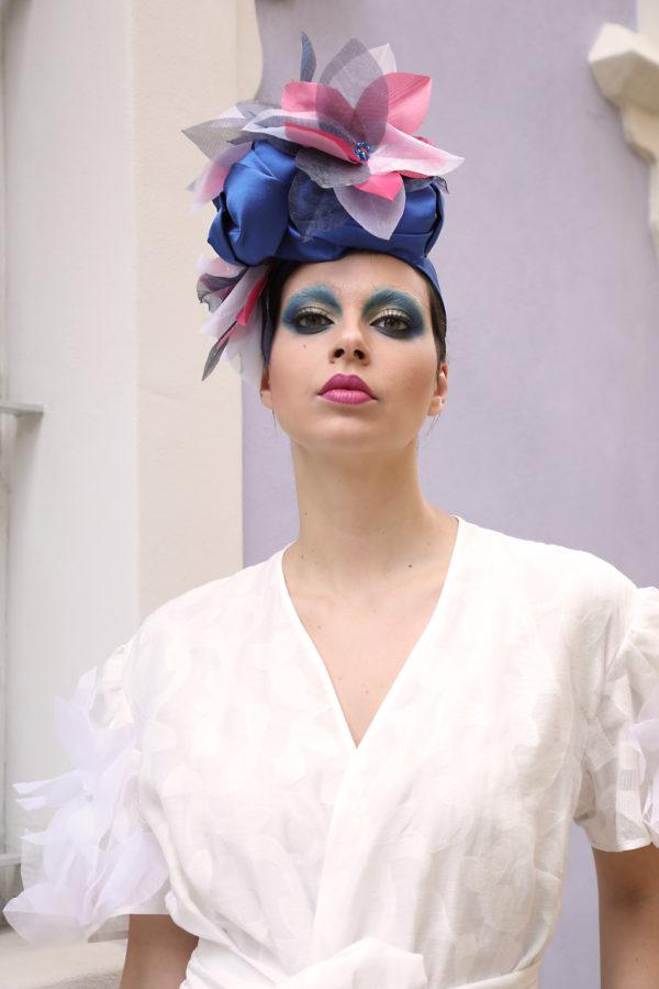 turbante fiore Madame Ilary